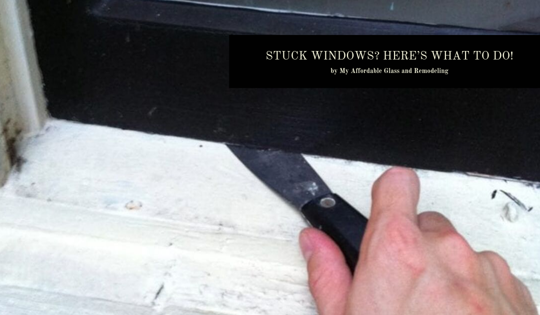 Stuck Windows? Here's What to Do