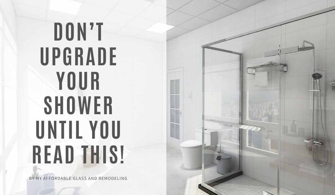 Don't Upgrade Your Shower Until You Read This!
