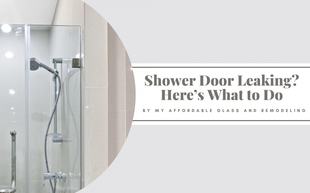 Shower Door Leaking? Here's What to Do