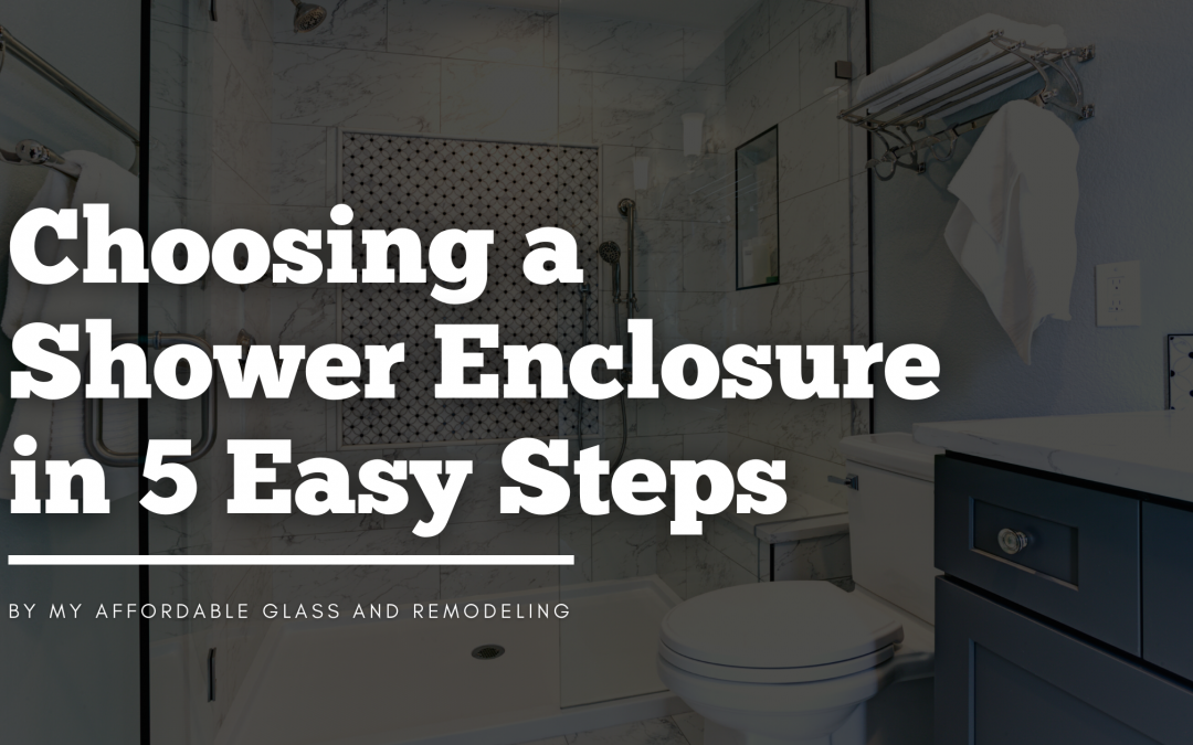 Choosing a Shower Enclosure in 5 Easy Steps